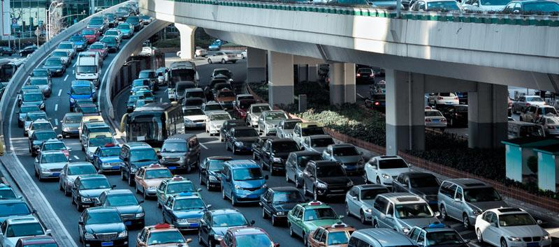 Information that needs to take a suboptimal pathway is like getting stuck in a traffic jam.